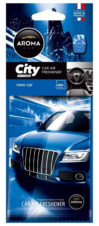 Vůně do auta - Aroma CAR CITY NEW CAR