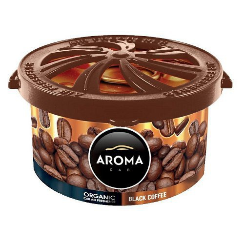 Vůně do auta - AROMA CAR ORGANIC 40g COFFEE