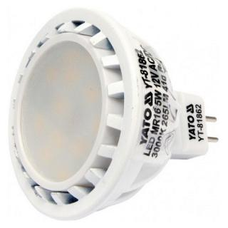 LED žárovka 5W MR16 265 lumen 12V (25W)