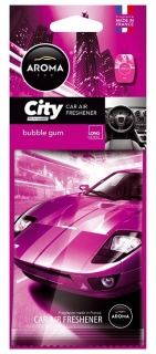 Vůně do auta - Aroma CAR CITY BUBBLE GUM
